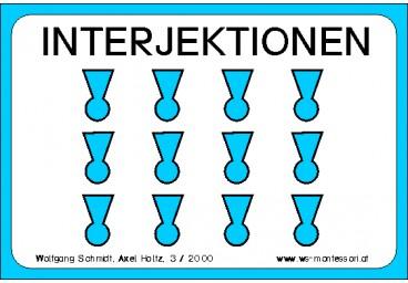 Interjektionen, Adj. braun