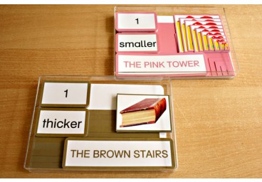 Pink Tower & Brown Stairs