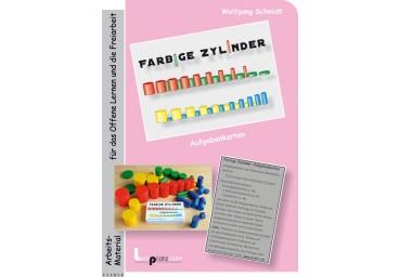Farbige Zylinder - Aufgabenkarten