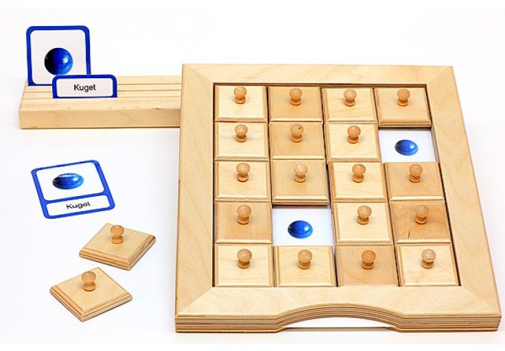 schiebe und aufdeckspieleinlagen geometrische k rper geometrie mathematik. Black Bedroom Furniture Sets. Home Design Ideas
