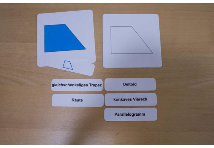 geometrische formen karten fl chen geometrie mathematik. Black Bedroom Furniture Sets. Home Design Ideas