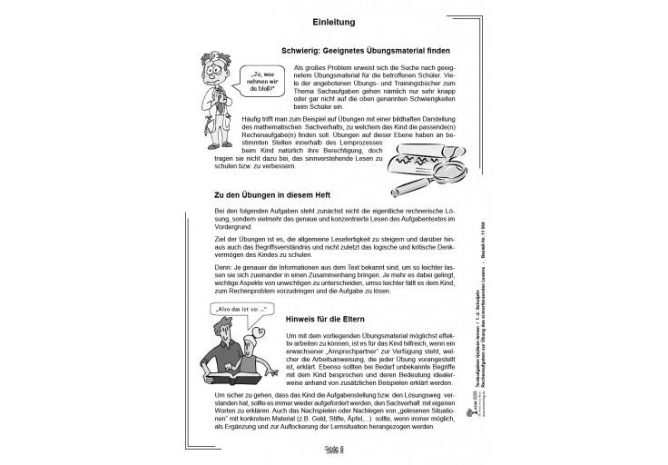 Textaufgaben lösen lernen / Klasse 1-2 - Mathematik