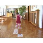 ABC Bodenplakate für Kindergarten A4