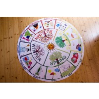 Year Cycle Table with Drawings 75cm