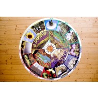 Year Cycle Table with Photos 75cm
