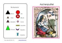 Wortartenmärchen: Aschenputtel, Adj. braun