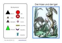 Wortartenmärchen: Hase & Igel, Adj. braun