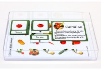 Schiebe- und Aufdeckspieleinlagen - Gemüse Deutschland
