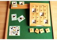 Schiebe- und Aufdeckspieleinlagen - Katzen