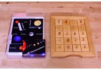 Schiebe- und Aufdeckspieleinlagen - Unser Sonnensystem