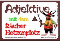 Adjektive mit dem Räuber Hotzenplotz, Adj. braun