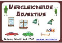 Vergleichende Adjektive braun