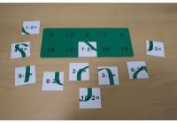 Einmaleins - Legekarten