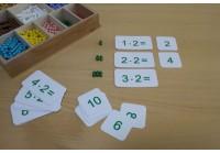 Einmaleins - Rechenkarten