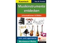 Musikinstrumente entdecken -  Informationen & Bilder