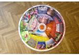 Jahreskreis für Boden mit Fotos 105cm