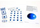 Schiebe- und Aufdeckspieleinlagen - Geometrische Körper