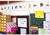 ABC Wandplakate für Schule A4
