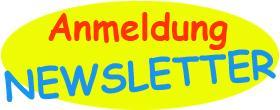 Anmeldung für unseren Newsletter